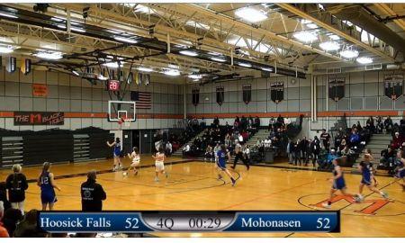 Girls: 12/27/19 Hoosick Falls vs Mohonasen