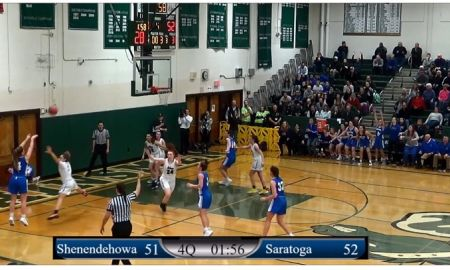 Girls: 2/11/20 Shenendehowa vs Saratoga