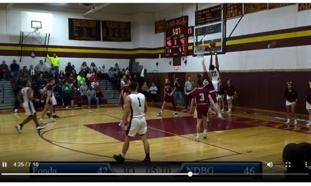 Boys: 1/29/20 Fonda vs Bishop Gibbons