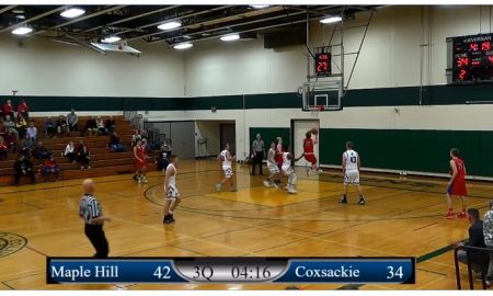 Boys: 1/26/20 Maple Hill vs Coxsackie-Athens