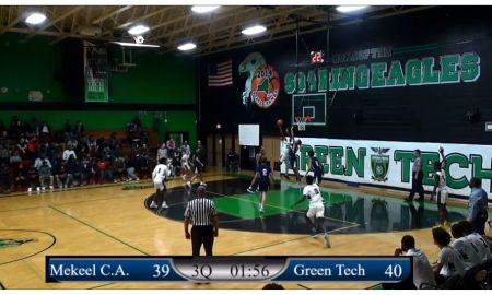 Boys: 12/10/19 Mekeel Christian vs Green Tech