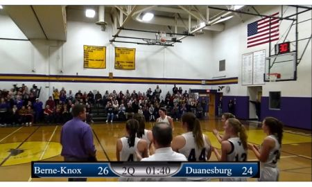Girls: 1/10/20 Berne-Knox vs Duanesburg