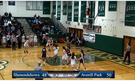 Girls: 1/14/20 Averill Park vs Shenendehowa
